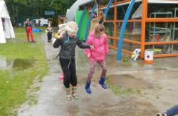 Plezier in de regen
