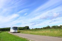 Met de bus naar het bos