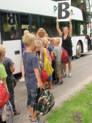 Bus en busouder
